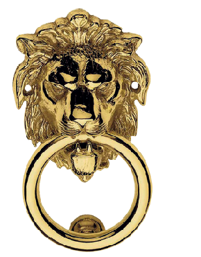 Leone door knocker I