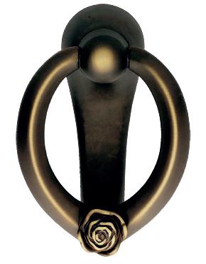 Rose door knocker